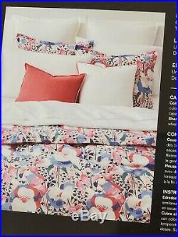 Lauren Ralph Sophie Floral Cotton 3-Pc FULL QUEEN Comforter Set New in Package