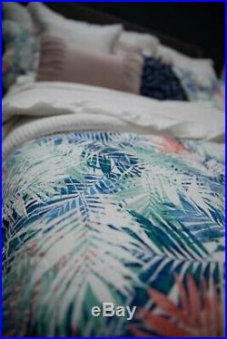 Layla 100% Cotton Coverlet Bedspread Comforter Bedcover Set 3pcs New