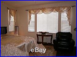 Luxurious Wedding Bedding Oversize Comforter Bedspread Quilts Set Queen or King