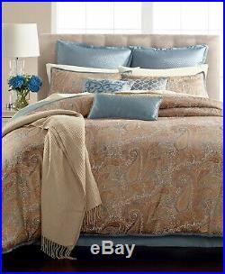 Martha Stewart 14-Piece QUEEN Comforter Set Paisley Plume L97567