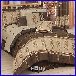NEW Browning Buckmark Bedding Comforter Set With Sheets FREE SHIPPING