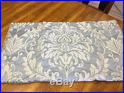 NEW Comforter Set J. Queen New York KINGSBRIDGE 4Pc Shams Bedskirt Blue