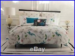 NEW Kate Spade 3 PC Trellis Blooms Full/ Queen Comforter & Shams Bedding Set