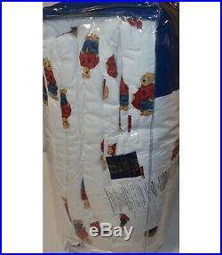 NEW Ralph Lauren Polo BOY Teddy Bear FULL QUEEN Comforter SET with 2 Shams