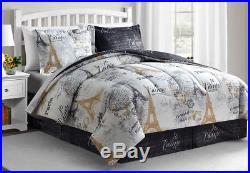 New Paris Gold Casa Luxury 8-Pc. Comforter Bed Set ANY SIZE (All Season)