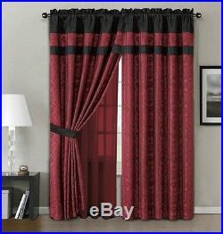 Oriental Design 7 pcs Jacquard Comforter Bedding Cal King Queen Set