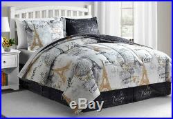 Paris Gold Luxury 8-Pc. All Season Comforter Set(Queen, King, Cal King Comforter)