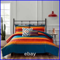 Pendleton QUEEN Comforter Set 2 deco Pillows and 2 Shams GRAND CANYON NWT