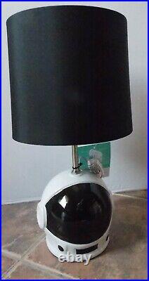 Pillowfort 8 Pc Space Astronaut Moon Jersey Comforter Sheets Lamp Set NWT FULL