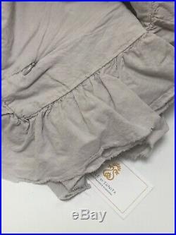 Piubelle Duvet + sham set Comforter cover Portugal Cotton Piu Belle Gray QUEEN