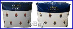 Polo Ralph Lauren Girl/Boy Teddy Bear Full Queen Comforter Set