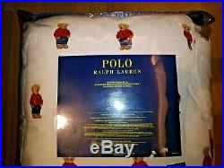 Polo Ralph Lauren Male Polo Bear COMFORTER SET in Twin, Full/Queen or King Size
