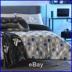 Ps4 New Design Teens Boys Original Reversible Comforter Set 3pcs Queen Size
