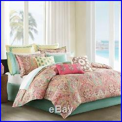 Queen Comforter Set Sleep Bed 7 Piece Collection Bedroom Black Down Reversible