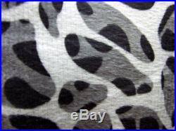Queen King Size Bed Leopard Zebra Black White Animal Faux Fur 7 pc Comforter Set