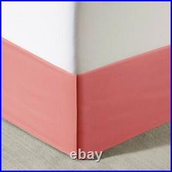 Queen Loretta Comforter & Sheet Set Micro Fiber Orange Pink Intelligent Design
