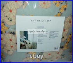 RALPH LAUREN Cassie Anitra Celadon Floral 3P FULL/ QUEEN COMFORTER SET NEW $615