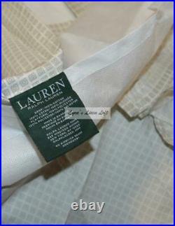 RALPH LAUREN FABRIC Pastel Paisley QUEEN COMFORTER SHAMS BEDSKIRT 4P SET NEW