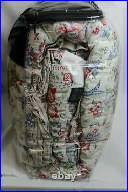 RALPH LAUREN Lucie Red Floral 3-PC FULL/QUEEN Comforter & Shams Set Cream New