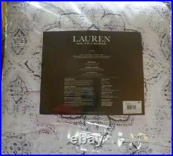 RALPH LAUREN Luna Medallion Lilac Multi Color 3P FULL/ QUEEN COMFORTER SET NWT