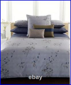 RARE Calvin Klein Bamboo Flower Hyacinth QUEEN Comforter & Shams Set BRAND NEW
