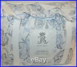 Rachel Ashwell Kelsey Floral 3P Full/ Queen Comforter Set Shabby Chic Reversible