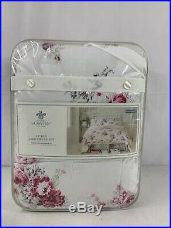 Rachel Ashwell Simply Shabby Chic Queen Full Sunbleached Comforter Set 3 Pc New
