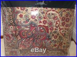 Ralph Lauren BOHEMIAN MUSE Burgundy Rug 3P Full Queen Comforter Shams Set $720