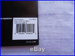 Ralph Lauren BOLD STRIPE Light Blue DALLYCE Full Queen Comforter Shams 3 pc SET