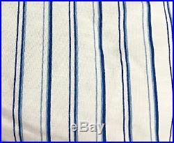 Ralph Lauren Floral Botanical Tropical Blue White 3 Pc. Full/queen Comforter Set