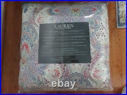 Ralph Lauren Home Fontaine Paisley FULL/QUEEN Comforter & Shams Set Cotton