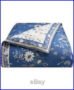 Ralph Lauren Home JOSEPHINA FLORAL 3-PC Full/Queen Comforter Set Blue/Cream $355