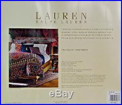 Ralph Lauren Poet's Society Queen Comforter 6 Piece Set NIP