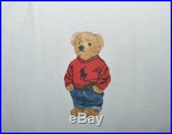 Ralph Lauren Polo Teddy Bear Boy 3P Full/ Queen Comforter & Shams Set New
