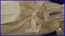 Ralph Lauren Whitehall Tonal Ivory 11p Queen Duvet Comforter Cover Set New1st Q