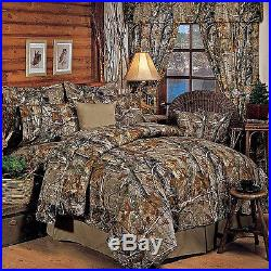 Realtree AP All Purpose Camo EZ Bed Set Comforter Sheets Camouflage Bedding