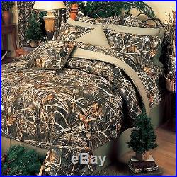 Realtree Max 4 Camo Comforter Set- Bed in a Bag Camouflage BeddingFREE VALANCE