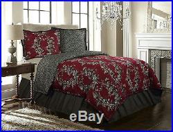 Rose Tree 4 Piece New Castle Comforter Set, Queen
