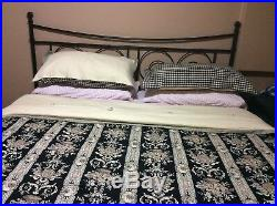 Rose Tree Place Vendome Comforter Set, QUEEN Bedskirt, Two Sham, Two Valance