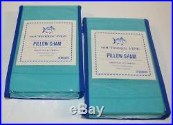 SOUTHERN TIDE Skipjack Chino Island Blue 3PC FULL/ QUEEN COMFORTER SET NWT