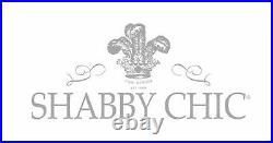 Shabby Chic White Ruffle Comforter set Rachel Ashwell Double / Queen