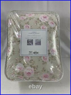 Simply Shabby Chic Queen Comforter Set Dutchess Rose Full Rachel Ashwell 3 Pc