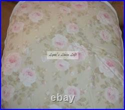 Simply Shabby Chic Queen Comforter Set Rachel Ashwell Dutchess Rose Floral Full