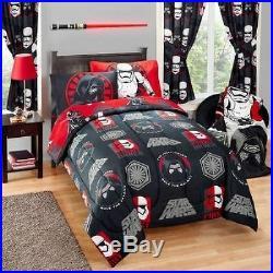 Star Wars Boys Kids Reversible Full Double Comforter & Sheet Set 5 Piece Bedding