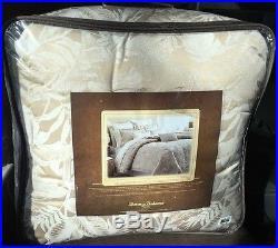 Tommy Bahama Mangrove Queen 4Pc. Comforter, Shams, & BedSkirt Set Neutral $330