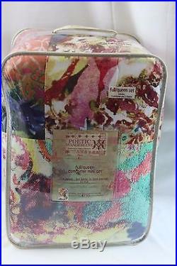 Tracy Porter Poetic Wanderlust WILLOW FULL/QUEEN 3PC Comforter Set Multi-Color