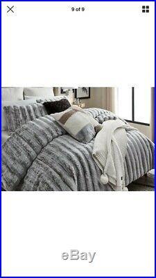 UGG Wilder 3-piece Comforter Set Full/Queen Cashew New