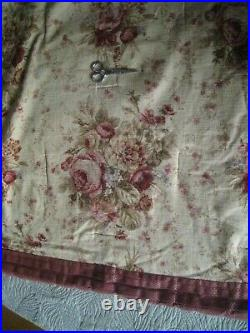 Vintage Rare Waverly Sonota Full / Queen 8 Pc. Comforter Set