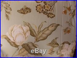 Waverlywilliamsburg Grandiflora Glacier Floral4 Piece Queen Comforter Setnew